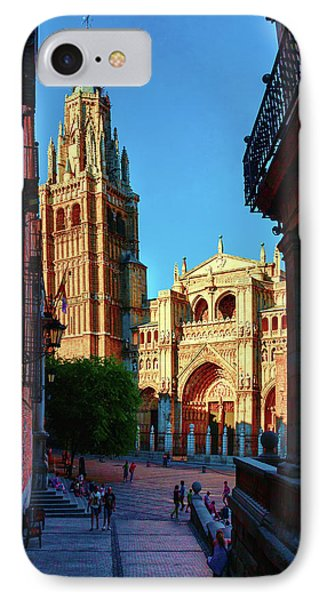 St Mary's Cathedral - Catholic Cathedral In Toledo, Chair Of The Primate Of Spain, The Main Cathedra IPhone Case