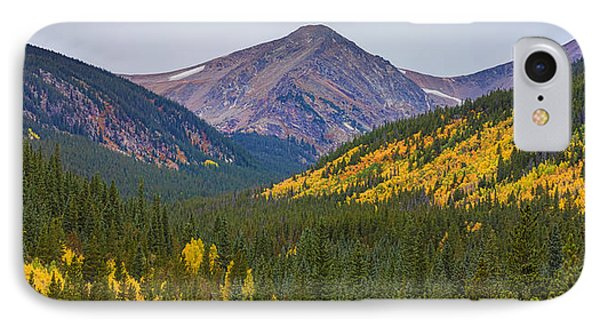 St Mary's Glacier Area Autumn Panorama IPhone Case by James BO  Insogna