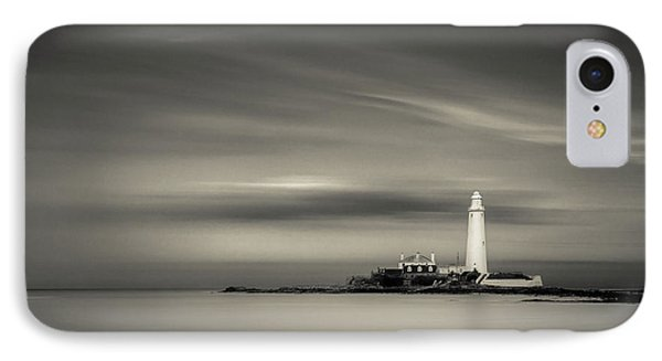 St. Mary's Island IPhone Case by Dave Bowman