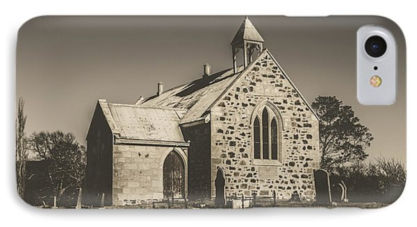 St Marys Vintage Church IPhone Case by Jorgo Photography - Wall Art Gallery