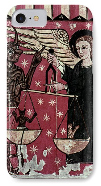St. Michael Weighing Souls Phone Case by Granger