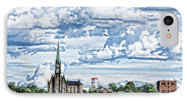 St Michaels Basilica IPhone Case by KJMcGraw