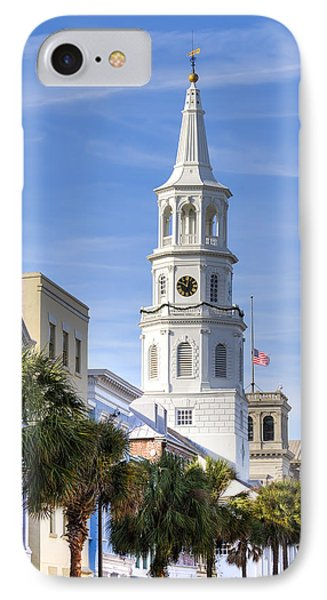 St Michaels Church Charleston Sc 3 IPhone Case