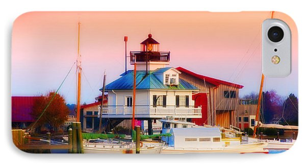 St. Michael's Lighthouse Phone Case by Bill Cannon