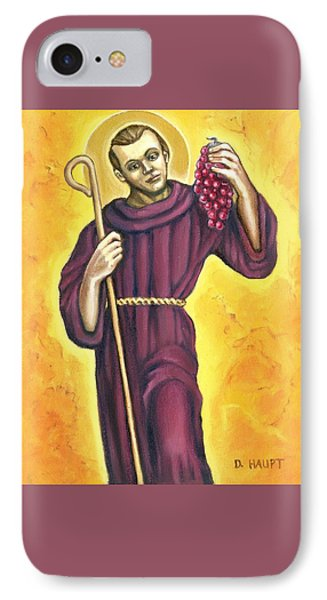 St. Morand, Patron Saint Of Wine Makers IPhone Case