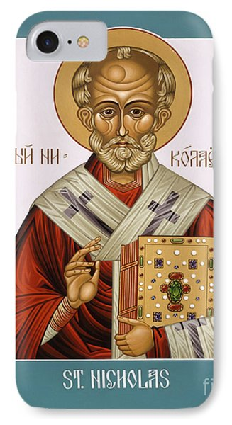 St. Nicholas - Lwnch IPhone Case by Lewis Williams OFS