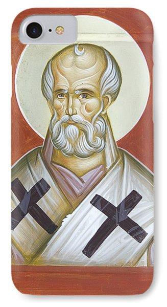 St Nicholas Of Myra Phone Case by Julia Bridget Hayes