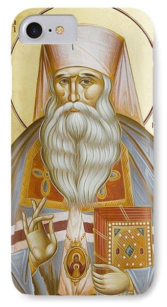 St Nicholas The Confessor Of Alma Ata And Kazakhstan Phone Case by Julia Bridget Hayes