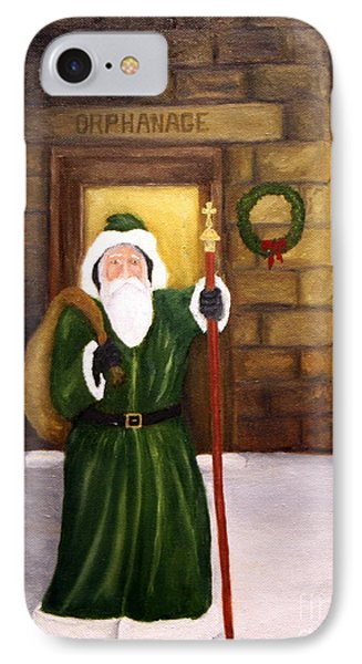 St. Nicholas Phone Case by Timothy Smith