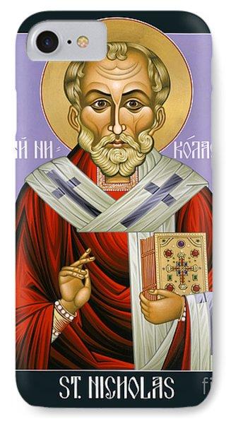 St. Nicholas, Wonderworker - Lwnww IPhone Case by Lewis Williams OFS