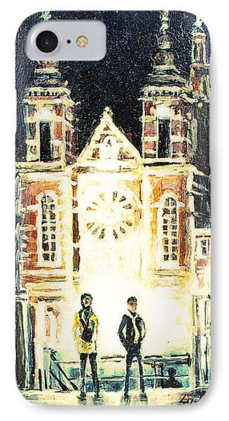 St Nicolaaskerk Church IPhone Case by Linda Shackelford