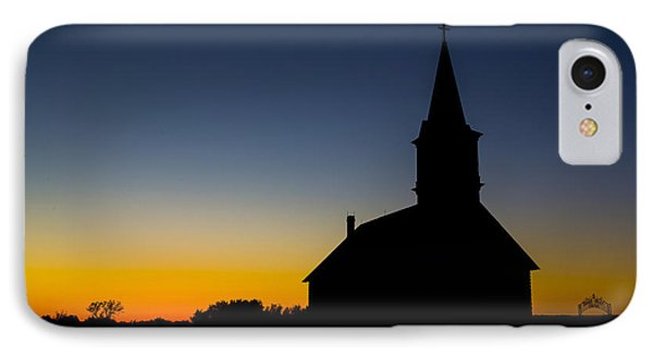 St Olaf Silhouette  IPhone Case by Stephen Stookey