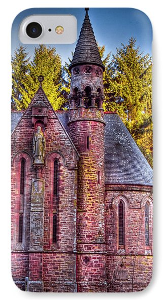 IPhone Case featuring the photograph St Palladius Church Drumtochty by Gabor Pozsgai