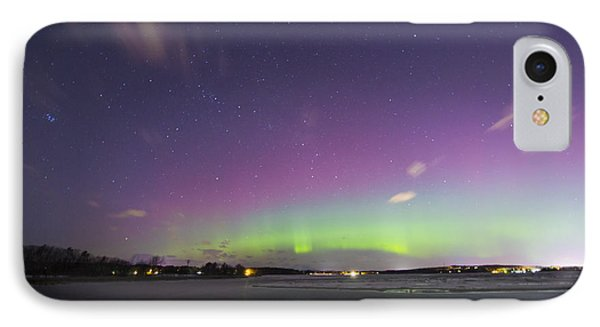 St. Patrick's Day Aurora 2015 IPhone Case by Patrick M Fennell
