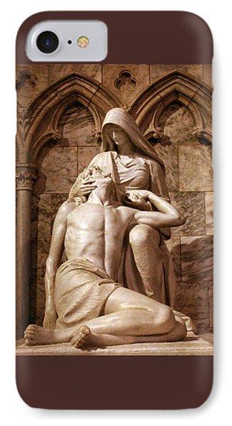 St Patrick's Pieta II IPhone Case by Jessica Jenney