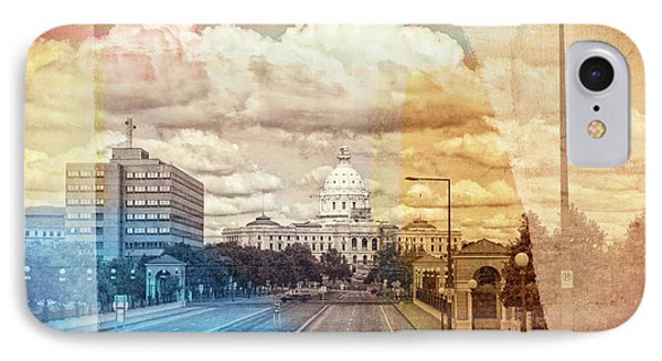 IPhone Case featuring the photograph St. Paul Capital Building by Susan Stone