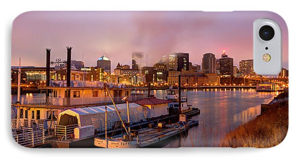 St Paul Minnesota Its A River Town IPhone Case by Wayne Moran