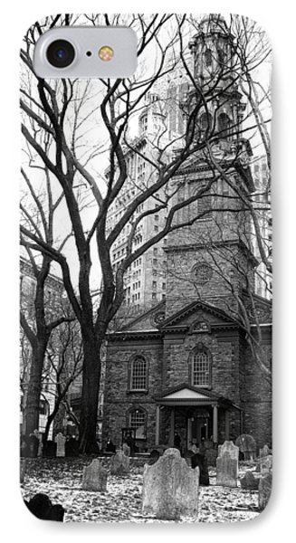 St. Paul's Chapel IPhone Case by Jessica Jenney