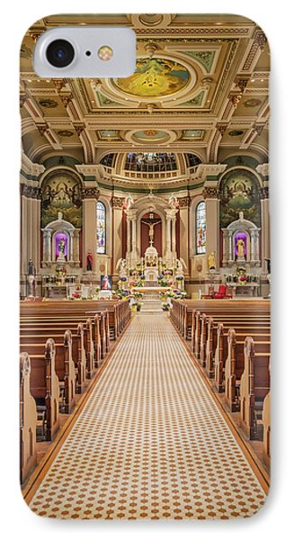 IPhone Case featuring the photograph St Peter The Apostle Church Pa by Susan Candelario
