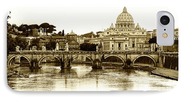 IPhone Case featuring the photograph St. Peters Basilica by Mircea Costina Photography