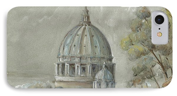 St Peter's Basilica Rome IPhone Case