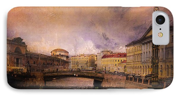 IPhone Case featuring the photograph St Petersburg Canal by Jeff Burgess