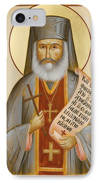 St Philoumenos Of Jacob's Well Phone Case by Julia Bridget Hayes