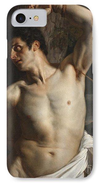 St. Sebastian IPhone Case by Hippolyte Paul Delaroche