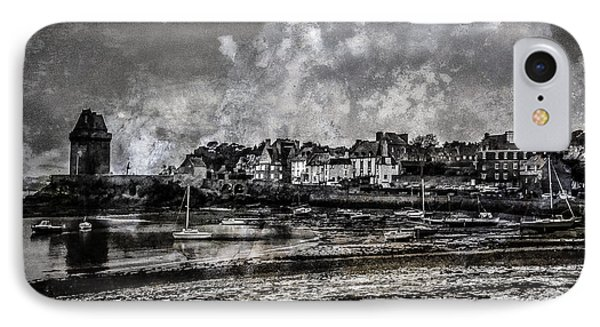 IPhone Case featuring the photograph St Servan's Beach by Karo Evans