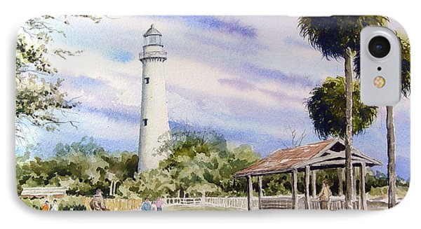 St. Simons Island Lighthouse IPhone Case