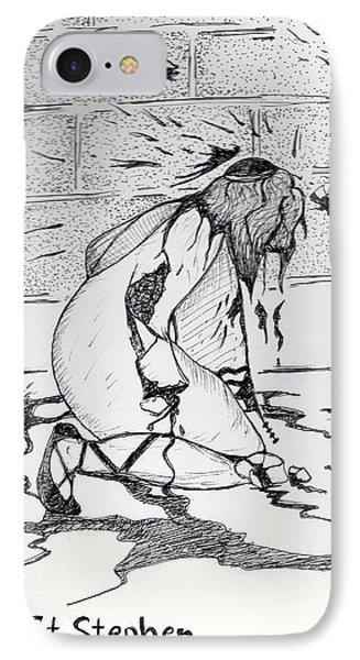 St Stephen Phone Case by Loretta Nash