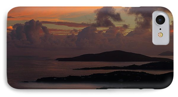 IPhone Case featuring the photograph St Thomas Sunset At The U.s. Virgin Islands by Jetson Nguyen