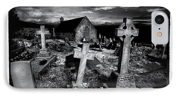 St Tudno's Church Phone Case by Mal Bray