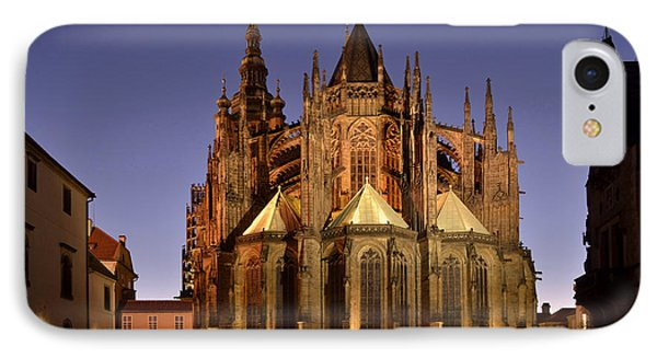 IPhone Case featuring the photograph St Vitus Cathedral Prague by Marek Stepan