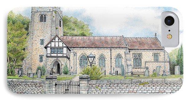 St Wilfrids Church Halton Lancashire IPhone Case