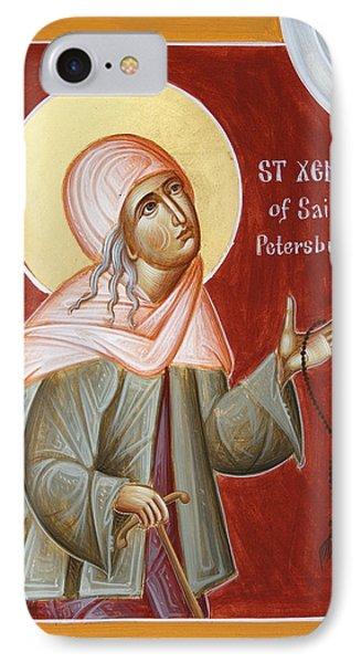 St Xenia Of St Petersburg Phone Case by Julia Bridget Hayes