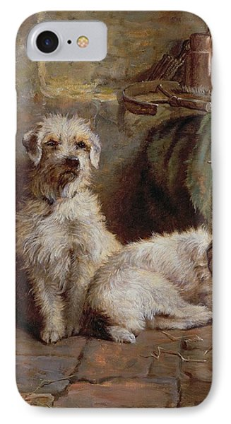 Stablemates IPhone Case by John Fitz Marshall