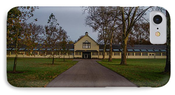 Stables At The Erdenheim Equestrian Center - Flourtown Pa IPhone Case by Bill Cannon