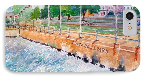Stacey Boulevard,gloucester, Ma Phone Case by Kathryn G Roberts