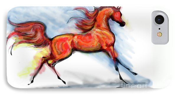 Staceys Arabian Horse IPhone Case