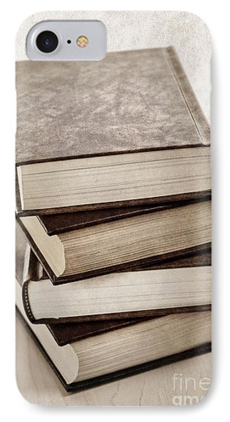 Stack Of Books Phone Case by Elena Elisseeva