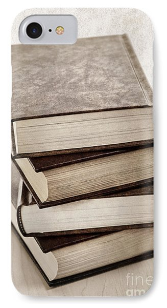 Stack Of Books IPhone Case