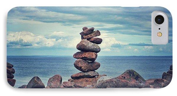Stacked Zen IPhone Case by Karen Stahlros