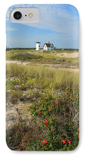Stage Harbor Lighthouse Cape Cod IPhone Case