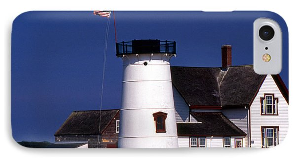Stage Harbor Lighthouse Ma IPhone Case
