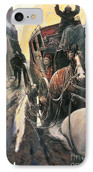 Stagecoach Robbers Phone Case by Granger