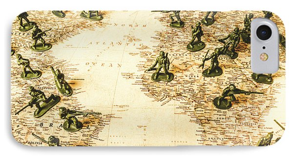 Staged World War IPhone Case by Jorgo Photography - Wall Art Gallery