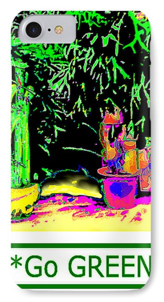 Staghorn Fern Go Green Jgibney The Museum Fineartamerica Gifts Phone Case by jGibney The MUSEUM Artist Series jGibney