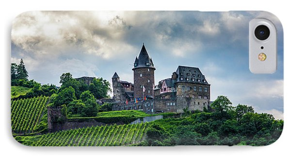 IPhone Case featuring the photograph Stahleck Castle by David Morefield