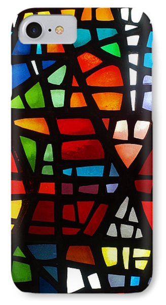 Stained Glass 2 IPhone Case by Michael Canning